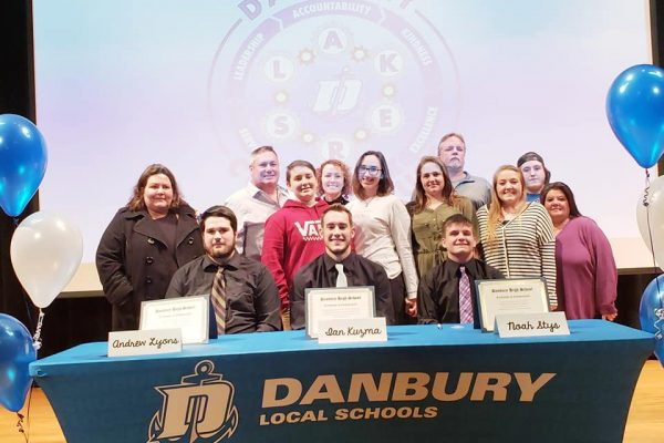 Danbury Local Schools Celebrates Ottawa County's Workforce Signing Day